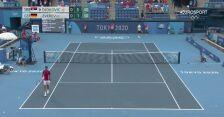 Tokio. Novak Djokovic wygrał pierwszego seta w półfinale tenisowego singla