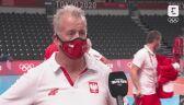 Tokio. Siatkówka: Vital Heynen po wygranym 3:0 meczu z Kanadą