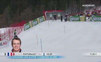 Alexis Pinturault wygrał kombinację i zdobył małą Kryształową Kulę