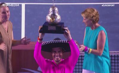 Rafael Nadal wygrał turniej w Acapulco
