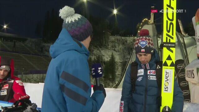 Rozmowa z Kamilem Stochem po niedzielnym konkursie w Lahti