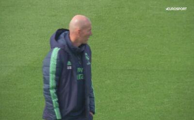 Piłkarze Realu trenują przed meczem z Manchesterem City w LM