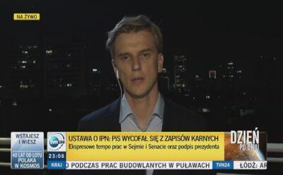 Izraelskie media reagują po nowelizacji ustawy o IPN