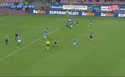 Milik dał prowadzenie Napoli w meczu z Udinese