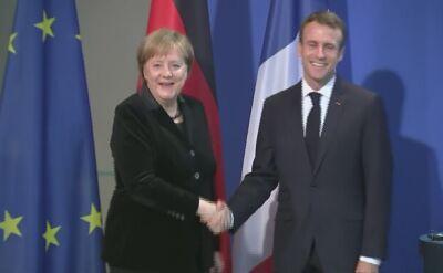 Macron wezwał Francję i Niemcy do zacieśnienia sojuszu na rzecz bardziej zjednoczonej Europy (materiał archiwalny)
