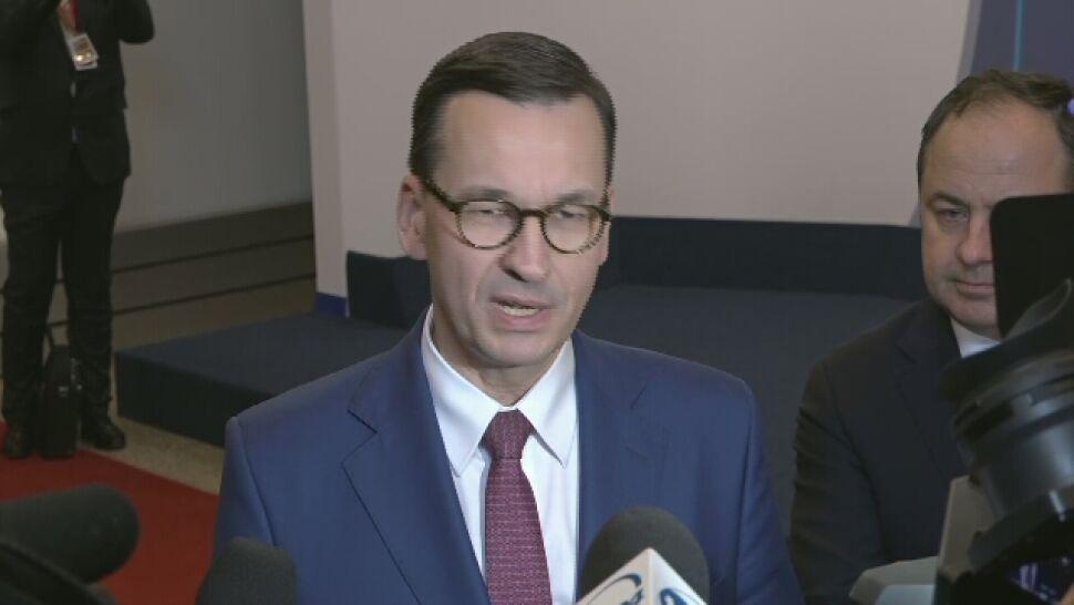 Morawiecki: dzięki polskiemu stanowisku udało się uniknąć bardzo dużego problemu