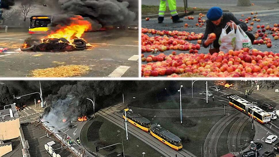 """Rolnicy protestowali w Warszawie. """"Chuliganeria musi ponieść konsekwencje"""""""