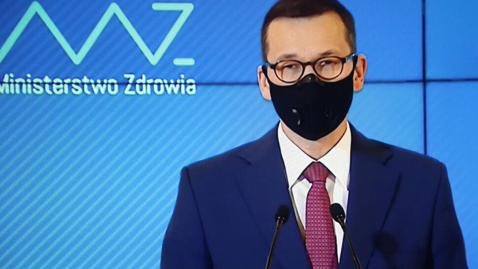 """Morawiecki przedstawił """"tarczę antykryzysową 2.0"""". """"Panu premierowi już się pomieszało"""""""