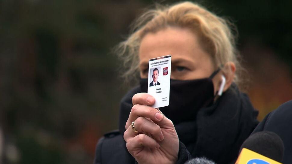 Opozycja rozważa różne opcje po tym, jak Barbara Nowacka została potraktowana gazem