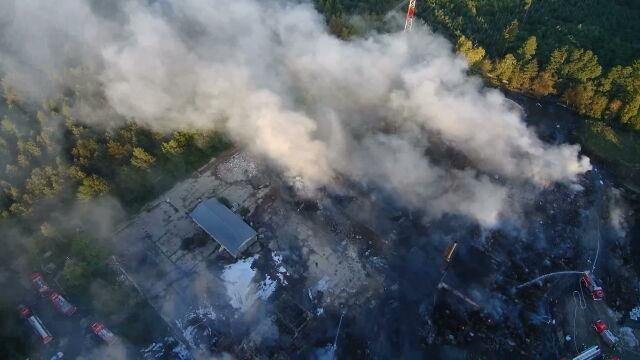 Zatrzymani w sprawie pożaru w Jakubowie