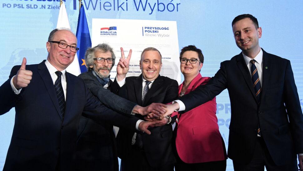 10 punktów i jedno hasło. Koalicja Europejska przedstawiła deklarację programową