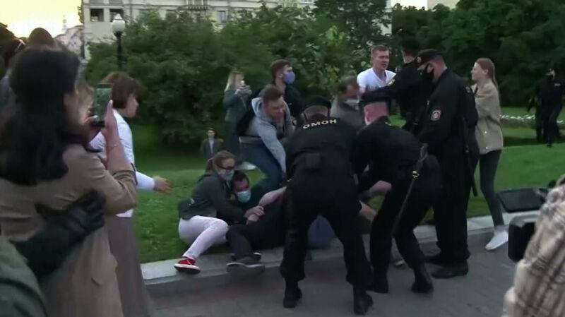 Akcje protestacyjne na terenie Białorusi po decyzji komisji wyborczej