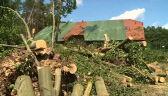 Zerwane dachy i duże szkody. Potężna nawałnica w Zachodniopomorskiem