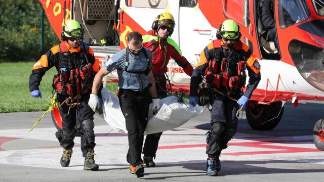 Akcja ratunkowa w Jaskini Wielkiej Śnieżnej