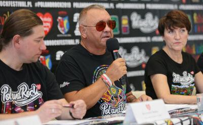 Jerzy Owsiak zaprasza na Pol'and'Rock Festival