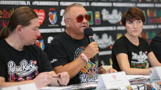 18.07.2019   Jerzy Owsiak zaprasza na Pol'and'Rock Festival