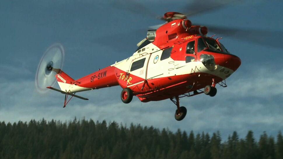 """TOPR musiało ratować helikopterem pijanego turystę. """"Nie mógł ustać na nogach"""""""