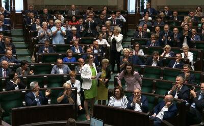 """Sejm przyjął poprawkę opozycji. """"Ewidentnie przegapili moment głosowania"""""""