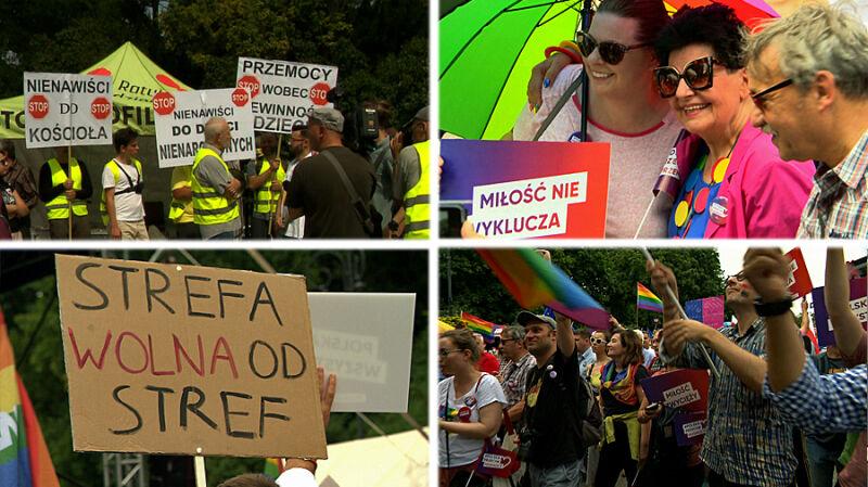 """""""Strefa wolna od stref"""". W Białymstoku Marsz Równości bez ataków"""
