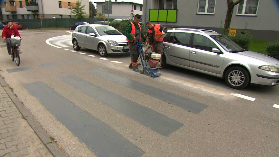 Burmistrz Miasteczka Śląskiego zlikwidował przejścia dla pieszych po to, żeby piesi nie mieli pierwszeństwa