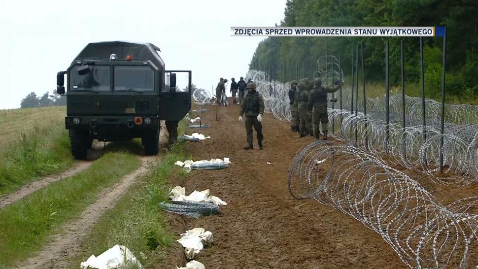 Straż Graniczna: coraz więcej nieletnich migrantów próbuje przekroczyć granicę polsko-białoruską
