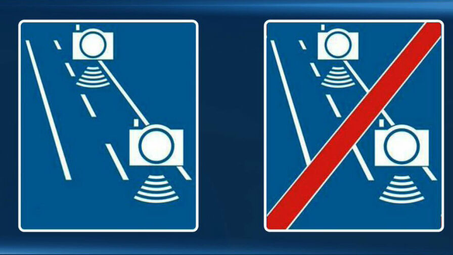 Nowe znaki na polskich drogach. Będą informować o odcinkowym pomiarze