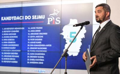 PiS ogłasza kandydatów, opozycja negocjuje. Ostateczny kształt list w poniedziałek