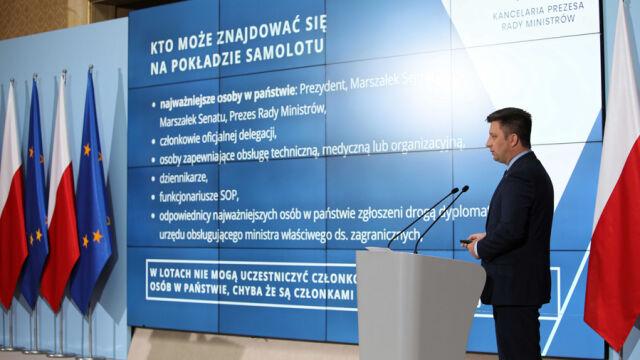 """""""Premier jest także właścicielem domu w Dębkach"""". Komunikat w sprawie lotów Morawieckiego"""