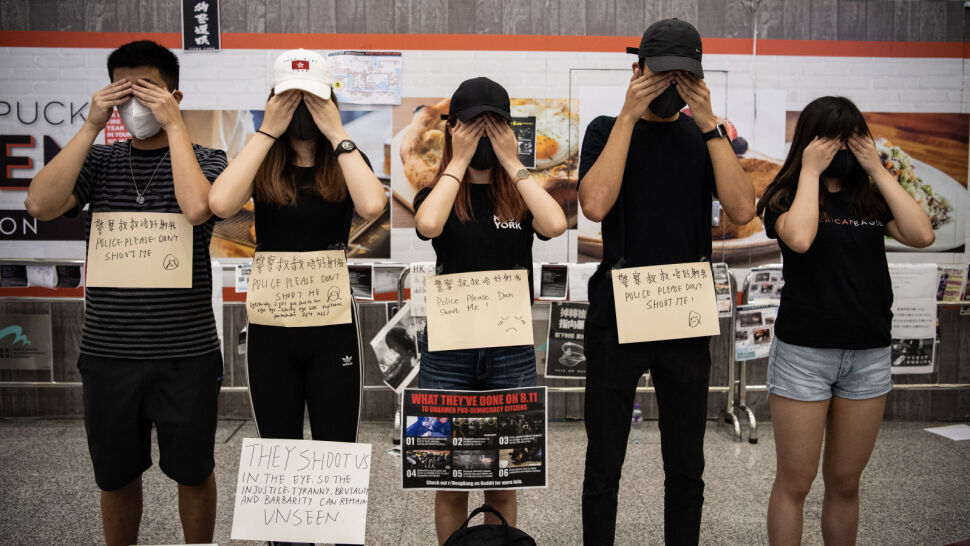 """""""To najczarniejszy weekend we współczesnej historii Hongkongu"""""""