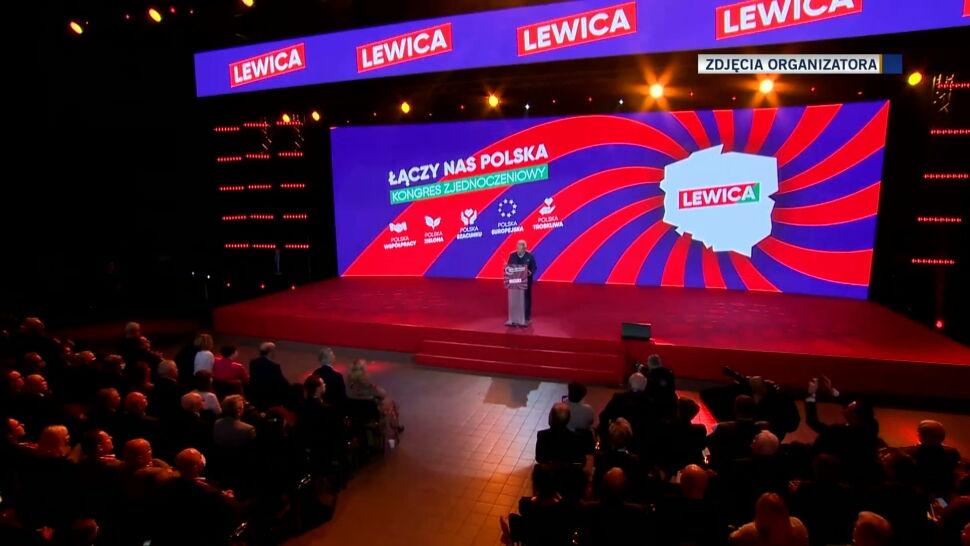 Nowa Lewica ma mieć dwie frakcje. Aleksander Kwaśniewski zabrał głos na kongresie