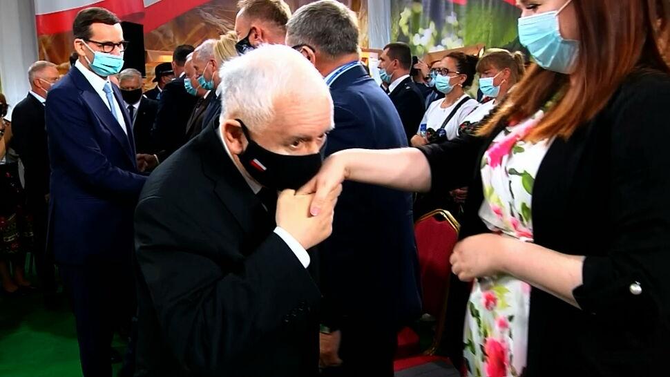 Echa wyroku TK. Tusk nawołuje do demonstracji, Kaczyński nie komentuje