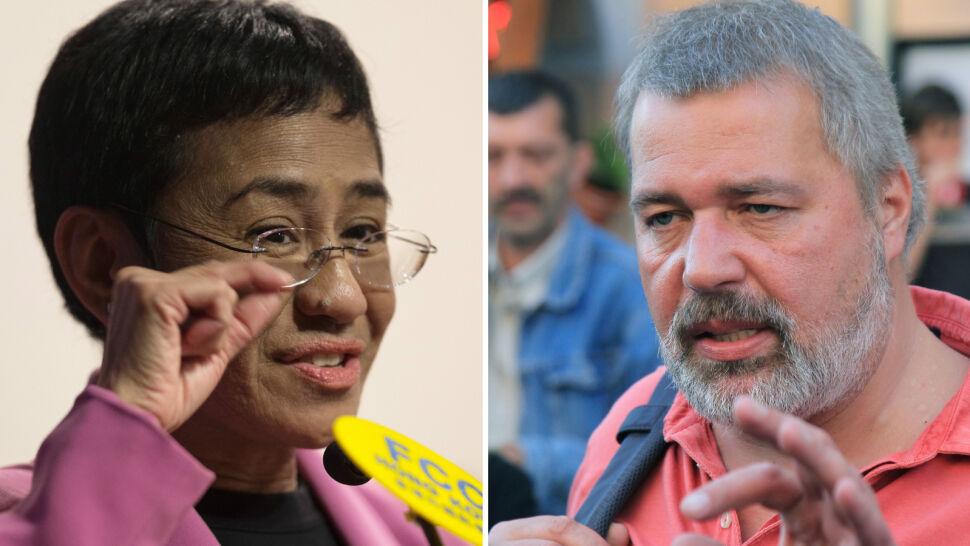 Dziennikarze Maria Ressa i Dmitrij Muratow laureatami Pokojowej Nagrody Nobla