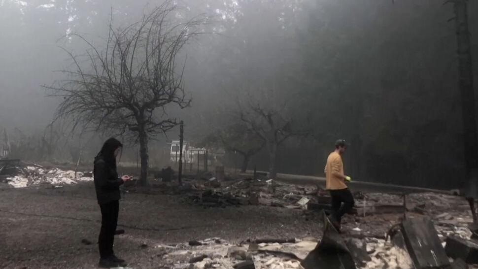 W Oregonie szaleją gigantyczne pożary. Dym dociera aż do Nowego Jorku