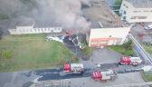 Dwaj strażacy zginęli w pożarze hali w Białymstoku. To pierwsze śmiertelne wypadki od 6 lat