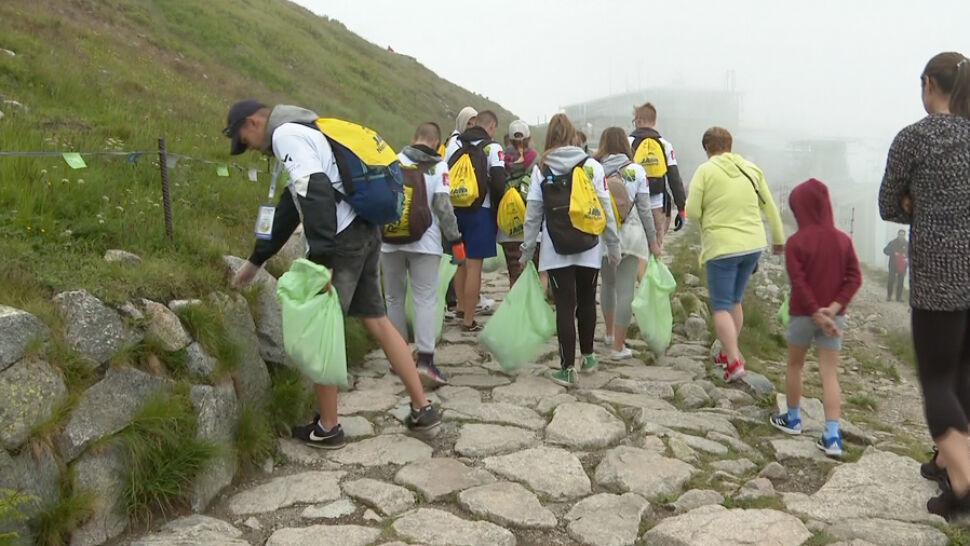 Tysiące wolontariuszy i tony śmieci. Trwa wielkie sprzątanie Tatr