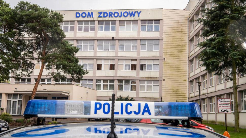 Sanatorium w Ciechocinku pod obstawą policji. Kwarantanna we wrocławskim pogotowiu