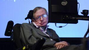 Doktorat Hawkinga internetowym hitem