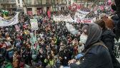 Strajk generalny we Francji. Związkowcy protestują przeciwko reformie emerytalnej