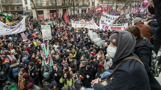05.12.2019 | Strajk generalny we Francji. Związkowcy protestują przeciwko reformie emerytalnej