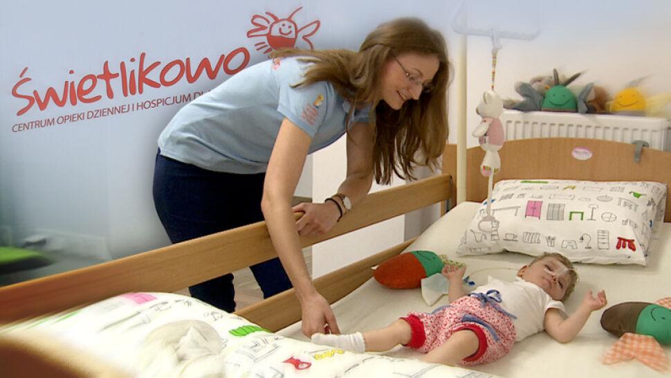 """Hospicjum dla dzieci Świetlikowo w Tychach. """"Wielkie serca, ogromny zapał do pracy i cudowna energia""""."""