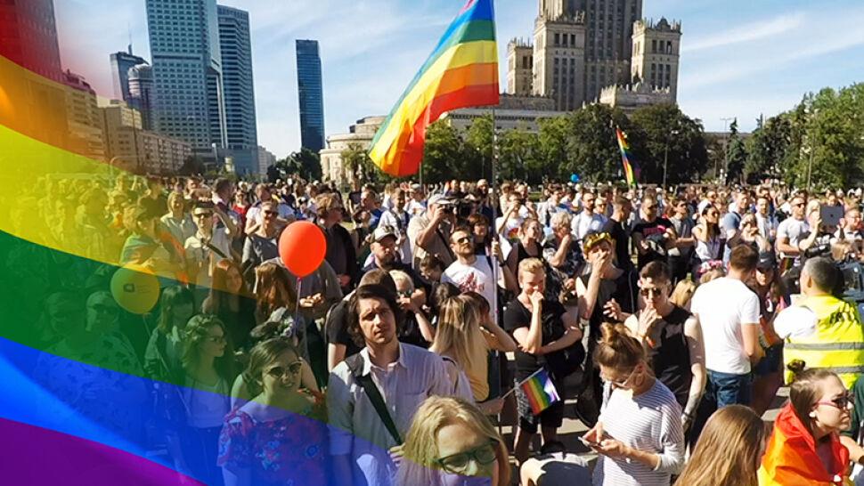 """Siedemnasta Parada Równości w Warszawie. """"Czujemy się olani przez swoje państwo"""""""