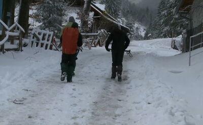 W Tatrach spadł śnieg. Przed wyjściem w góry warto to wziąć pod uwagę