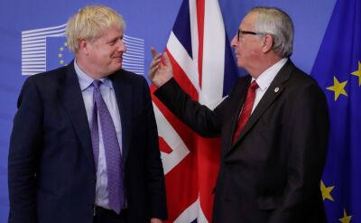 """Jest porozumienie w sprawie brexitu. Johnson mówi o """"wspaniałej umowie"""""""