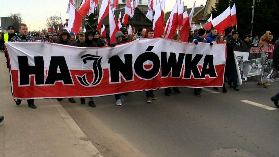 Próbowały zablokować marsz narodowców w Hajnówce. Kobiety zostały uniewinnione
