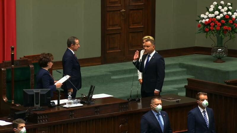 """Orędzie prezydenta Andrzeja Dudy. """"Liczę na dobrą współpracę"""""""