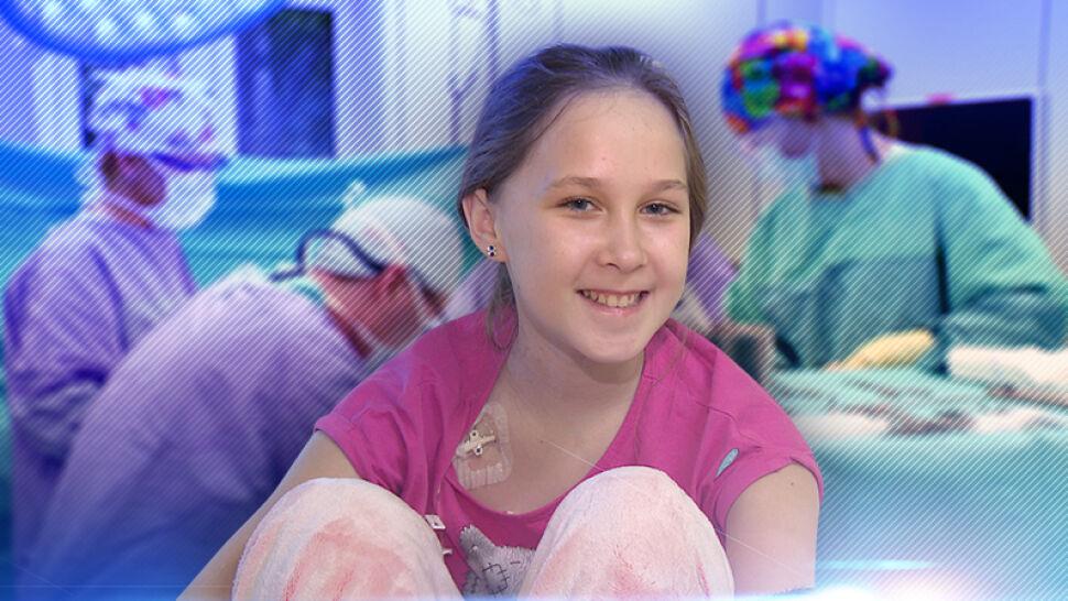 Lekarze ze Szczecina zaryzykowali i uratowali życie Amelki. Przeszła skomplikowaną operację aorty