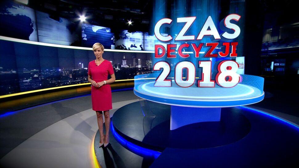 Nowoczesna technologia i pierwsze wyniki. Wieczór wyborczy w TVN24