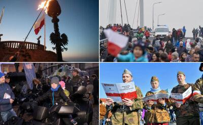 Od Bałtyku aż do Tatr. W całej Polsce trwa świętowanie niepodległości