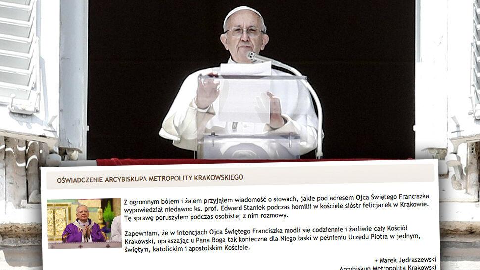 """Ksiądz modlił się o """"szybkie odejście papieża do Domu Ojca"""". """"Dziwię się, że wierni nie wyszli"""""""