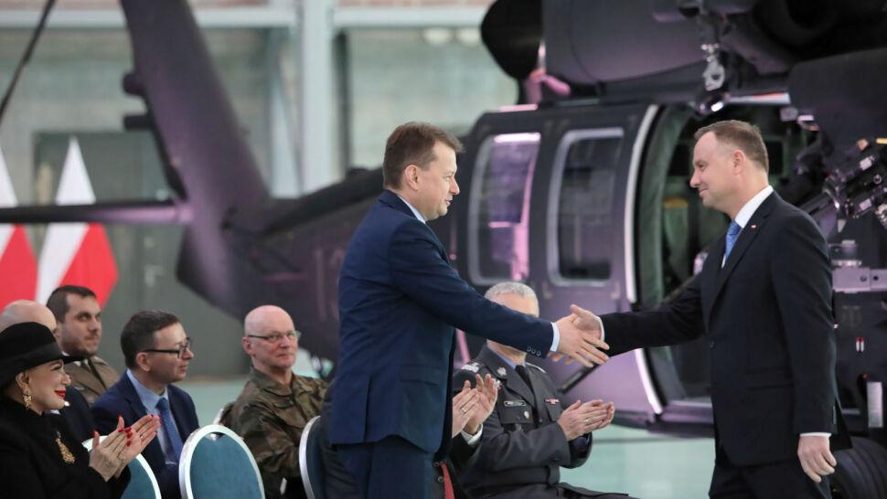 Wojska Specjalne otrzymały cztery śmigłowce Black Hawk